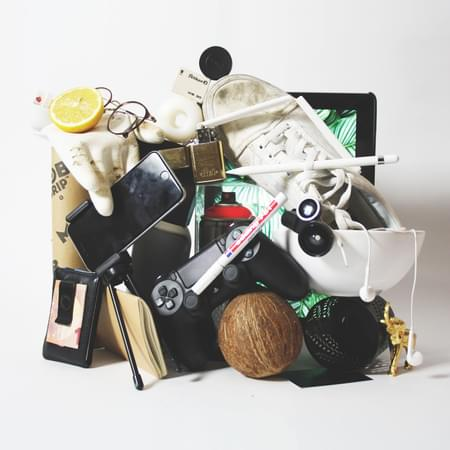 a collection of various good but into rubbish