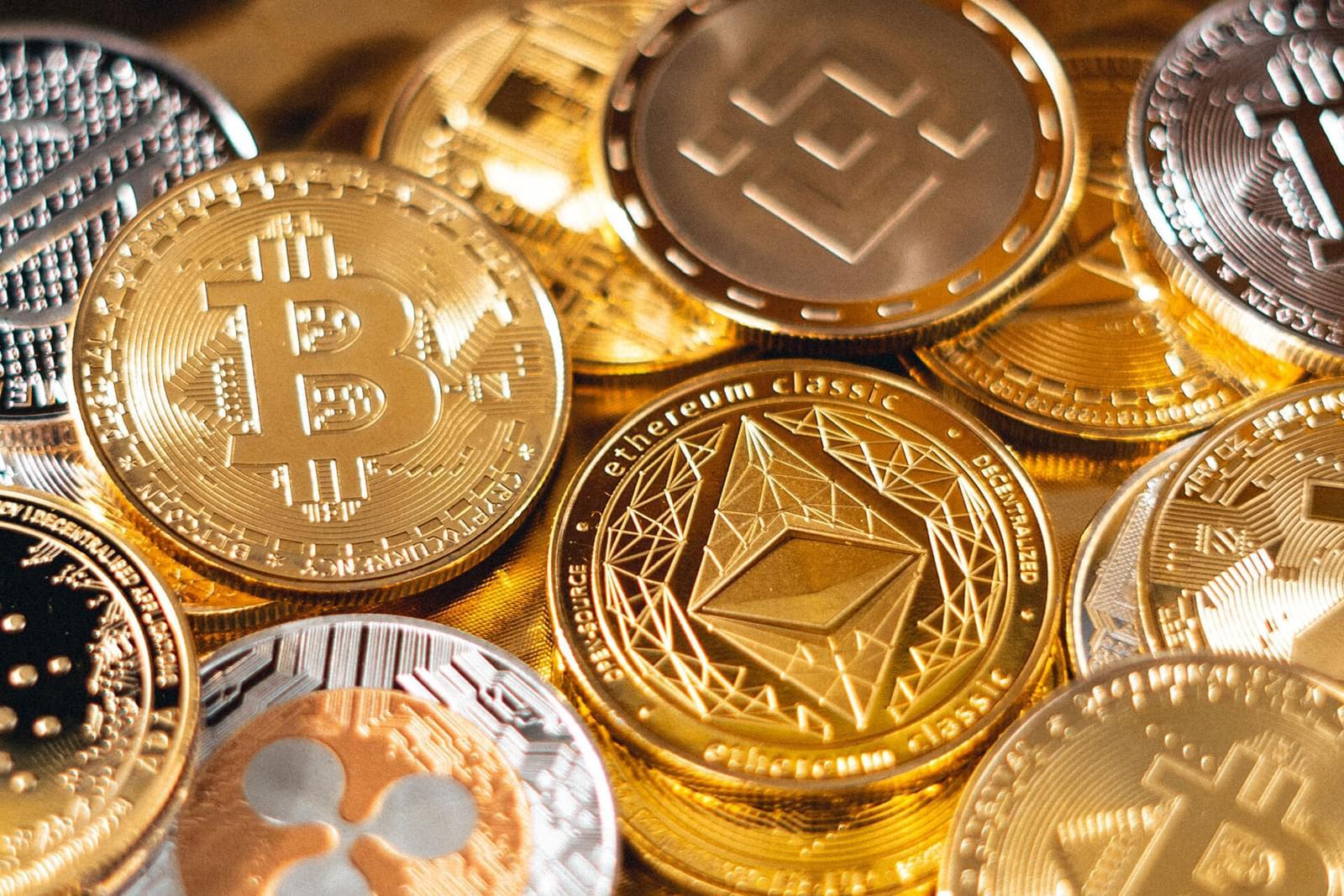 collection crypto coins