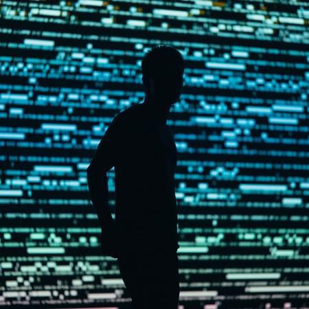 computer graphic silhouette