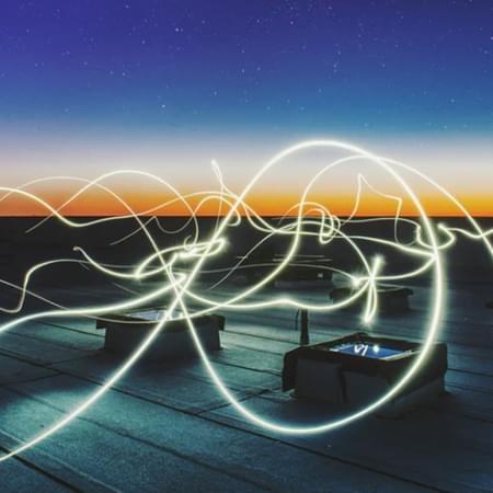 long exposure light trail